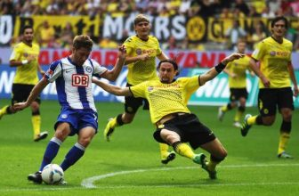 19. kolo Bundesligy otevře duel Hertha vs Dortmund