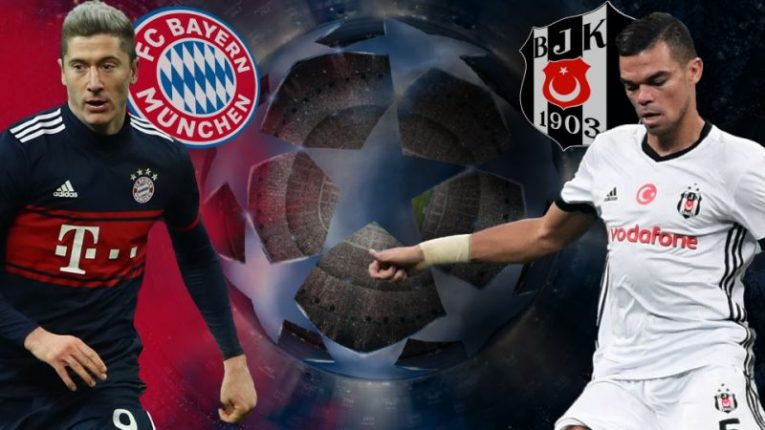 Bayern Mnichov - Besiktas
