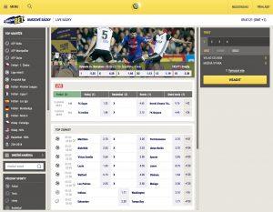 SazkaBet screenshot