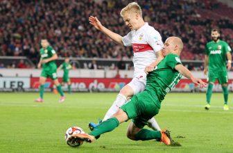 Evropských pohárů chtivý Augsburg hostí Stuttgart