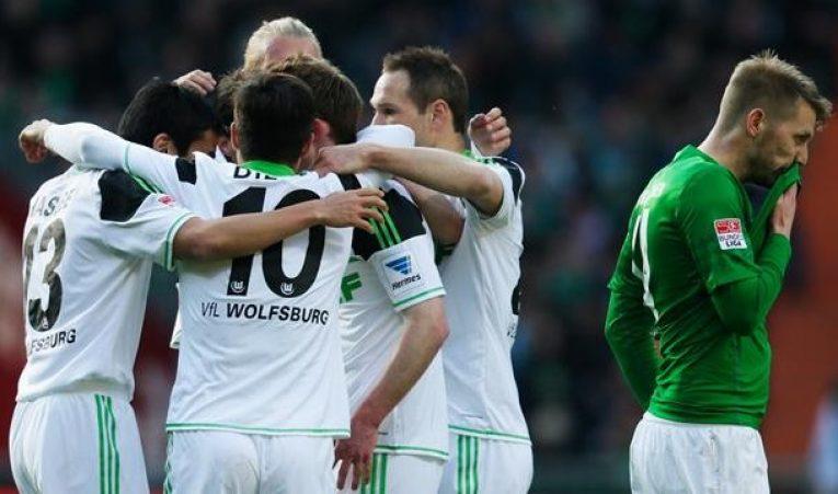 22. kolo Bundesligy uzavře duel Brémy-Wolfsburg