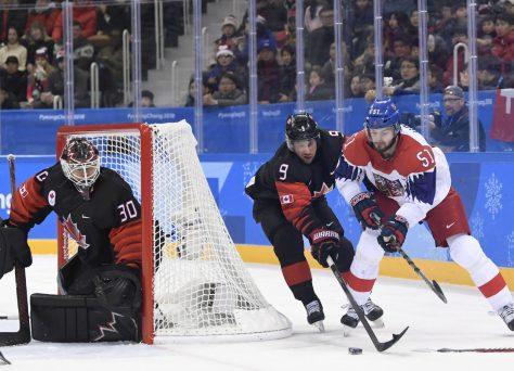 Česko s Kanadou v boji o bronz
