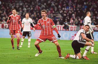 Besiktas je z Ligy mistrů skoro pryč, dohání pětibrankové manko na Bayern