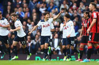 Čtvrtý Tottenham si chce v Bournemouthu upevnit postavení v top 4