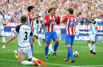 Atletico Madrid by si mělo snadno poradit s Deportivem