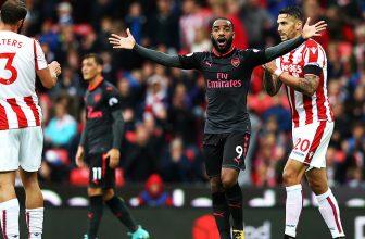 Gunners v neděli na Emirates s nepříjemným Stoke City
