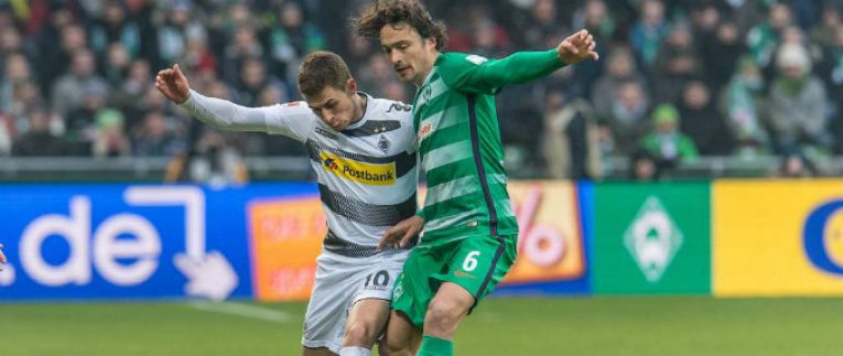 Gladbach-Brémy: Domácí o poháry, Werder o záchranu