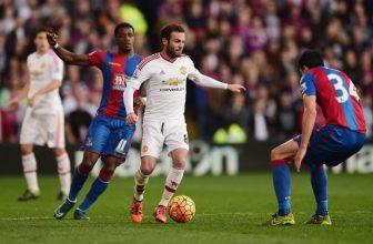 Mourinhův Manchester jede na pondělní duel do Crystal Palace