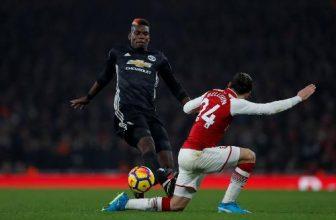 Ve zápase United s Arsenalem už překvapivě o moc nejde