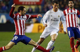 Madridské derby jak se patří: Real v souboji o druhé místo s Atleticem