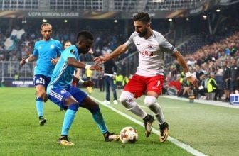Salzburg ztrácí na Marseille dva góly, ale doma letos ještě neprohrál