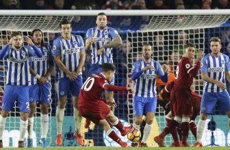Liverpool potřebuje nad Brightonem vyhrát, pak má čtvrté místo