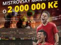 Mistrovský maraton s garancí 500 Kč