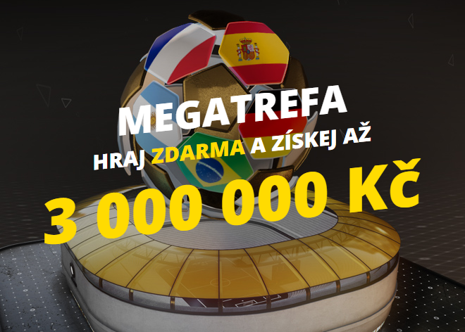 Speciální Fortuna Megatrefa pro MS 2018 slibuje výhru 3 000 000,- Kč!