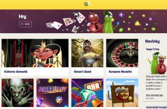 Také Sazka má své online kasino, dostalo název Sazka Hry