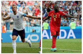 Souboj gigantů o první místo Skupiny G: Anglie – Belgie