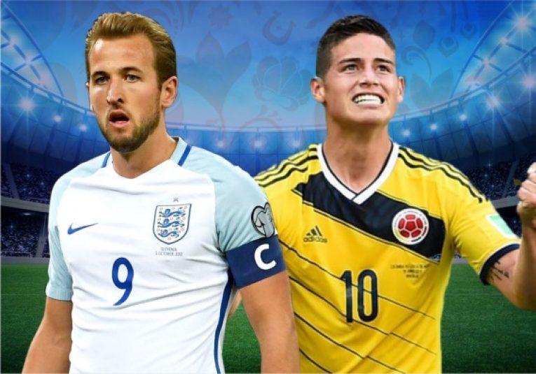 Kolumbie - Anglie