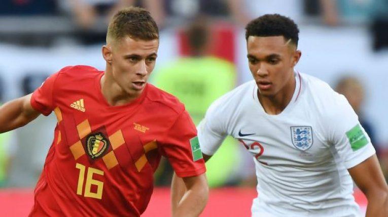 Belgie - Anglie