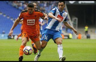 V týdnu je vložené kolo La Ligy: Espanyol – Eibar