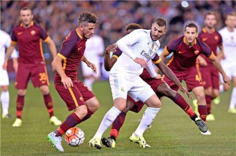 Real Madrid - AS Řím
