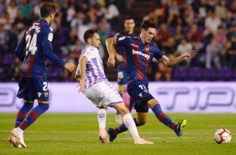 Páteční předehrávka 10. kola La Ligy mezi Valladolidem a Espanyolem