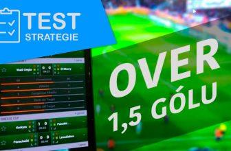 Test sázkové strategie: Live navýšení kurzů na over 1,5 gólu nabízí zajímavou možnost výdělku