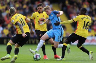 Manchester City jede v rámci úterního programu PL na Watford
