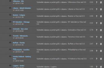Plachta: Tiket na hokej se sázkou 10 korun a možnou výhrou přes půl milionu korun