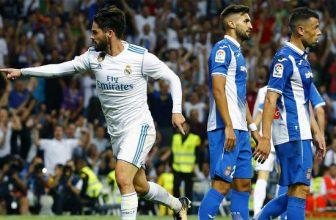 Třetí Real v posledním nedělním utkání La Ligy u třináctého Espanyolu