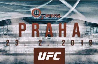 Vsaďte si na UFC Fight Night 2019 – nejslavnější MMA organizace poprvé v Praze!