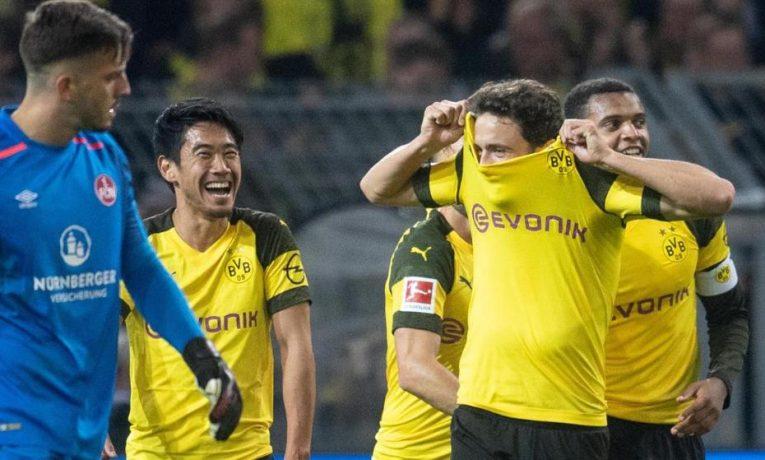 22. kolo Bundesligy zakončí poslední s lídrem. Jak vsadit na duel Norimberk-Dortmund?