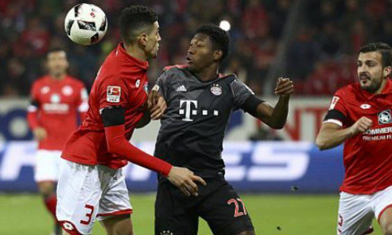 26. kolo Bundesligy uzavře klání Bayern vs Mainz