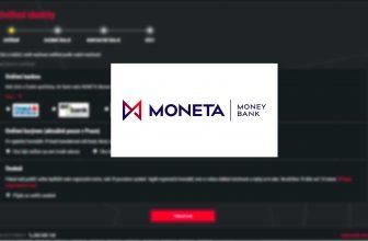 MONETA Money Bank jako další způsob ONLINE ověření u SYNOT TIP!