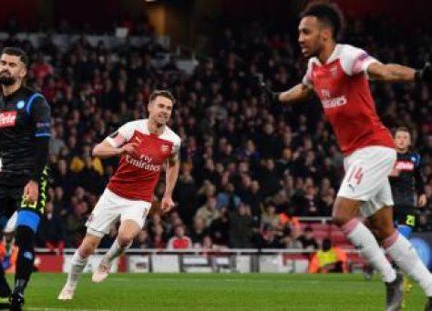 Neapol - Arsenal