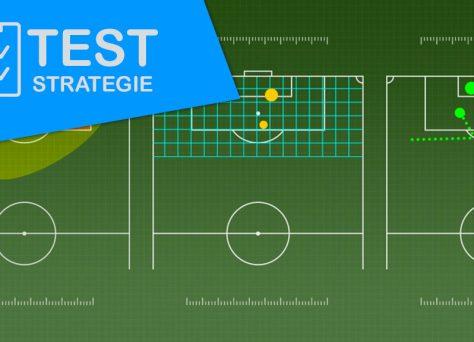 Test strategie sazeni