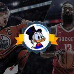 Nabídka placeného sázkového servisu pro NHL a NBA, S GARANCÍ ZISKU