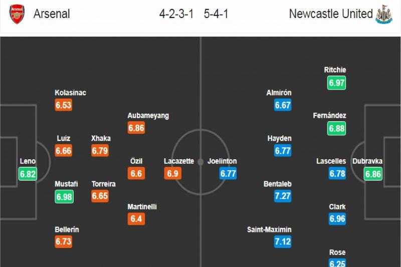 Arsenal - Newcastle