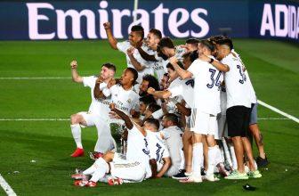 Real Madrid slaví 34. titul!