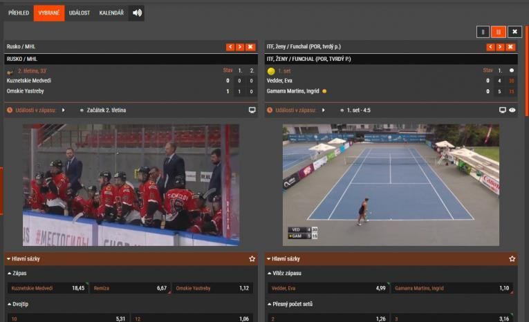 SYNOT TIP nově nabízí live streamy!