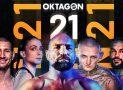 Oktagon 21 (aktualizováno): víme na koho vsadit – živý přenos CZ/SK