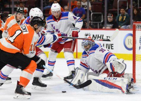 Flyers vs Rangers