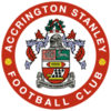 Logo týmu Accrington Stanley