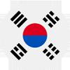 Logo týmu Jižní Korea
