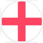 Logo týmu Anglie 21