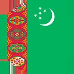 Logo týmu Turkmenistán