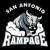 Logo týmu San Antonio Rampage